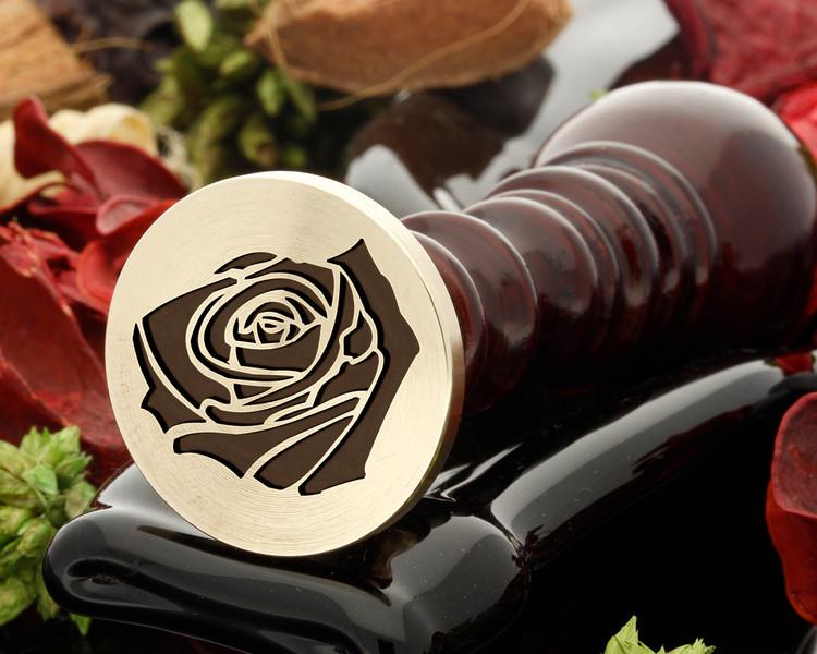 Rose 16 wax seal