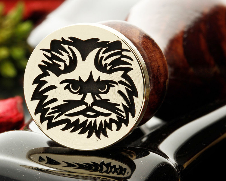 Persian Cat engraved example