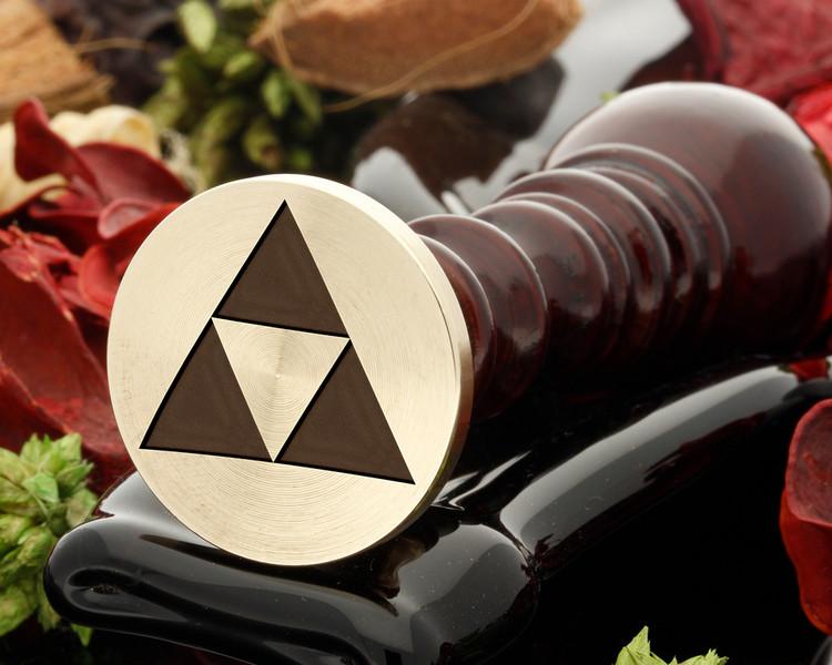 Triforce Design Wax Seal