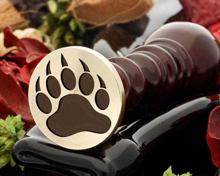 Grisly Bear Paw Wax Seal
