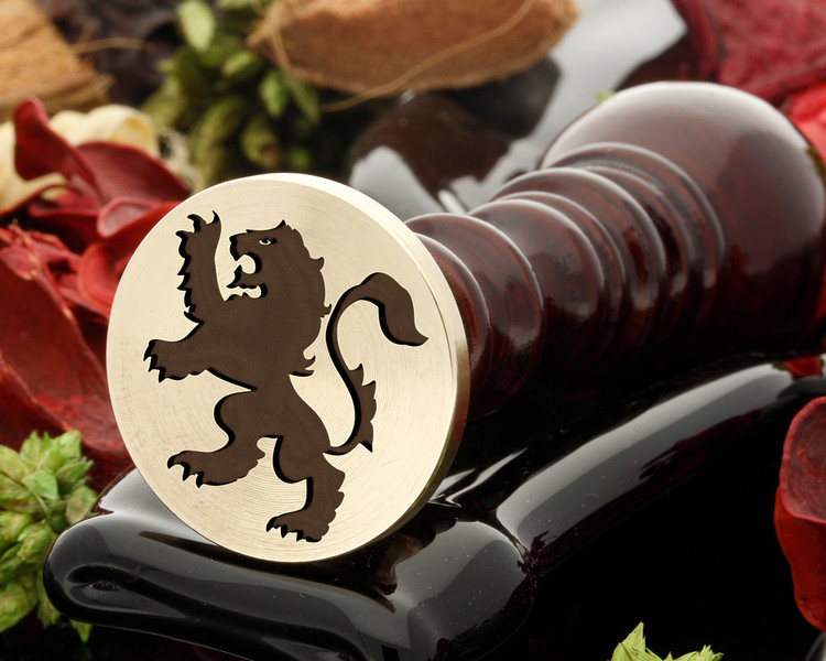 Crest Lion 2 Wax Seal