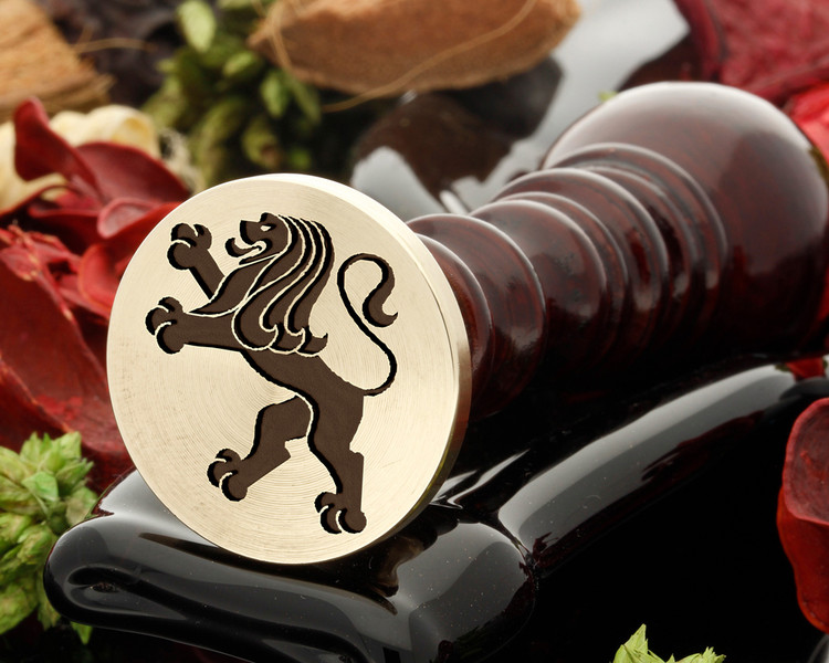 Crest Lion 5 Wax Seal