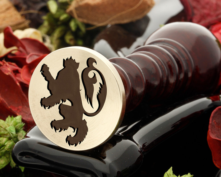 Crest Lion 6 Wax Seal