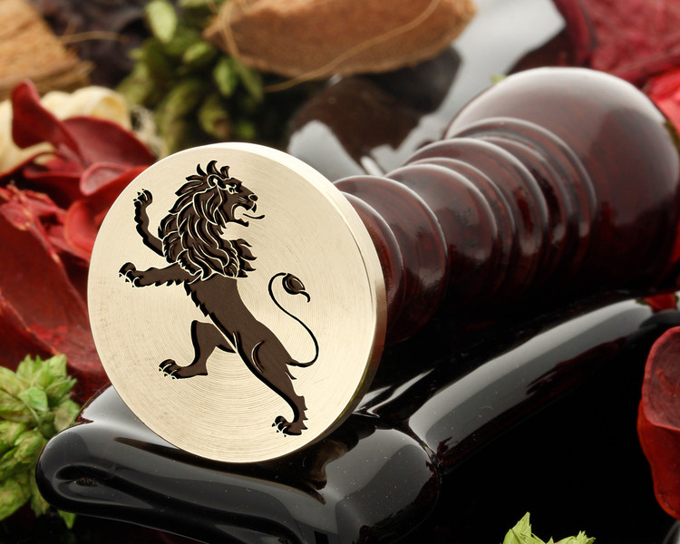 Crest Lion 12 Wax Seal
