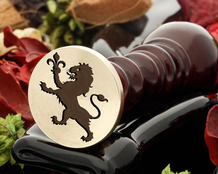 Crest Lion 13 Wax Seal