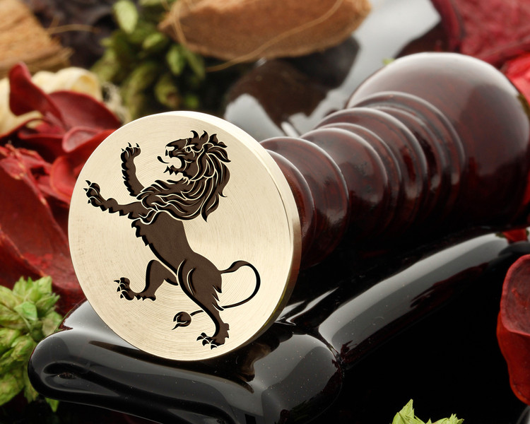 Crest Lion 14 Wax Seal