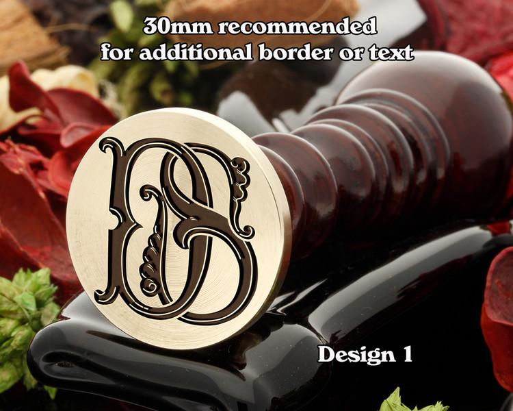 Victorian Monogram DS SD D1