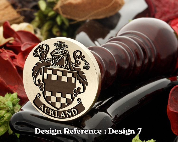 Ackland Family Crest D7