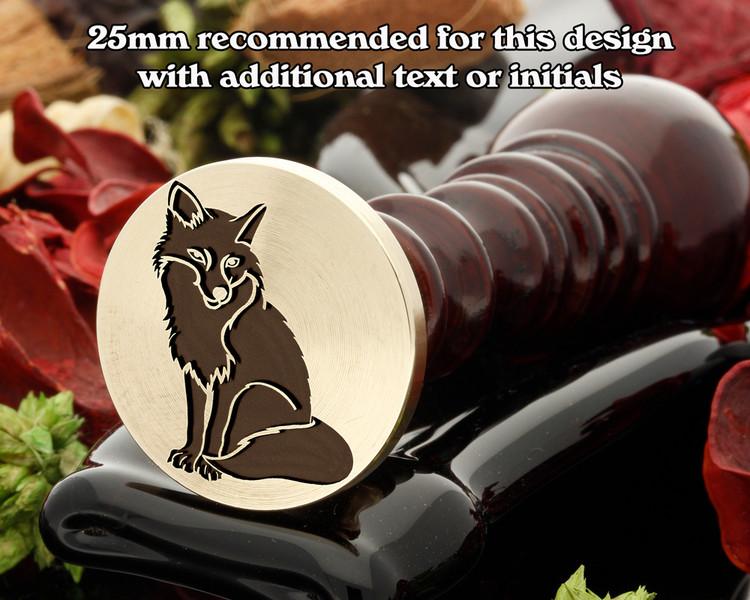 Sitting Fox Wax Seal Stamp