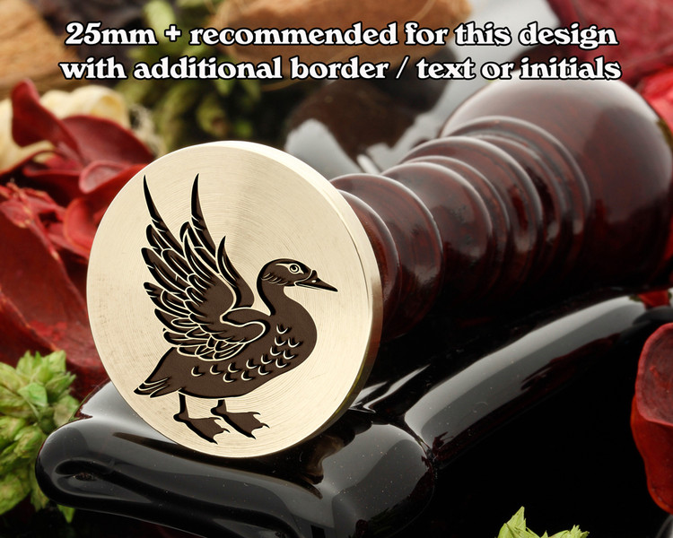 Goose Wax Seal Stamp
