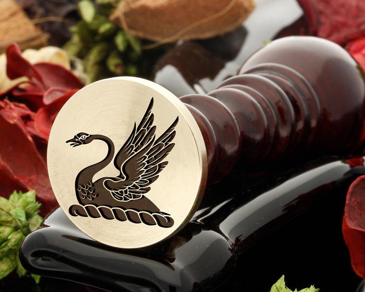 Crest Swan 3 Wax Seal