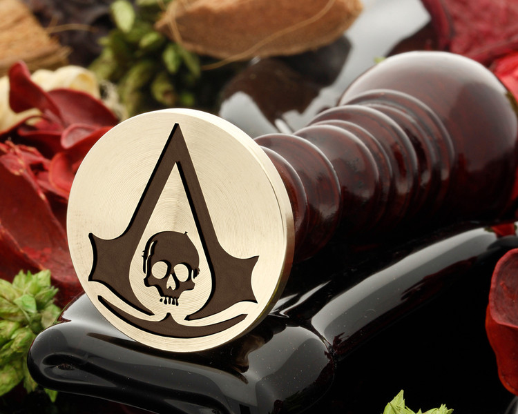 Assassins Creed Skull Wax Seal