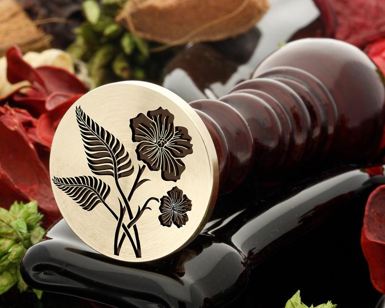 NZ Fern and NI Flax Wax Seal Stamp