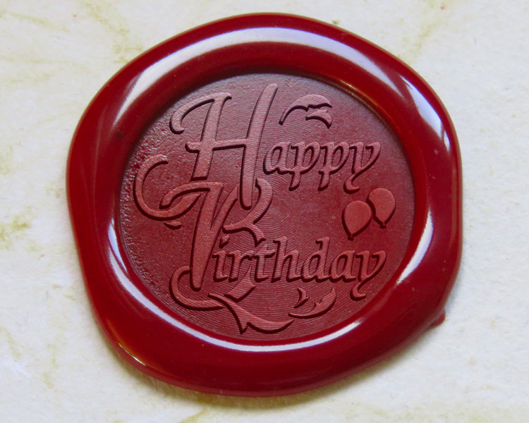 Happy Birthday Peel n Stick - no set up fee