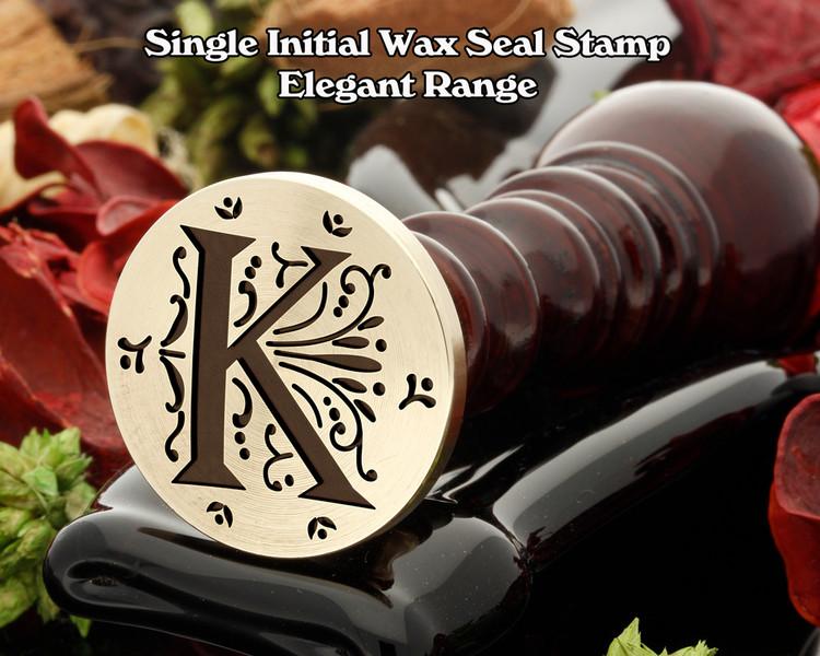 Elegant Range Wax Seal Initial k