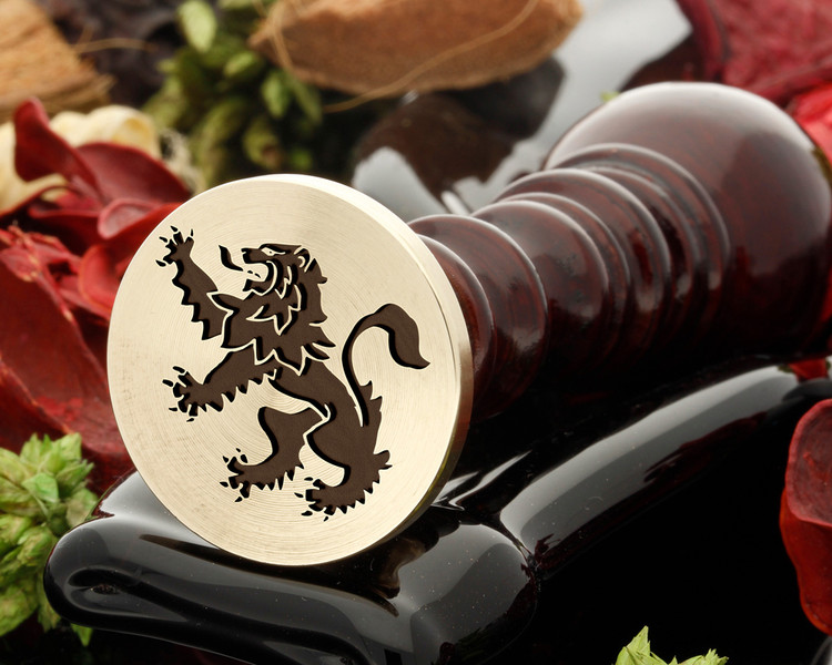 Crest Lion 21 Wax Seal