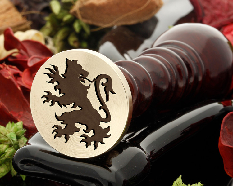 Crest Lion 22 Wax Seal