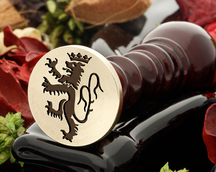 Crest Lion 24 Wax Seal