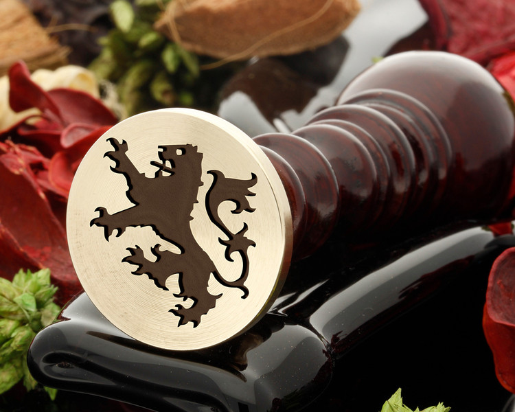 Crest Lion 25 Wax Seal