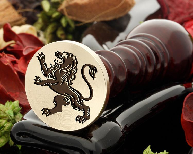 Crest Lion 27 Wax Seal