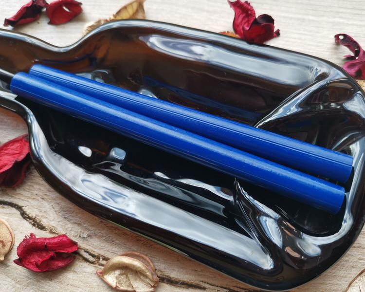 Royal Blue 11mm Large Glue Gun Wax Sticks handmade in Shropshire