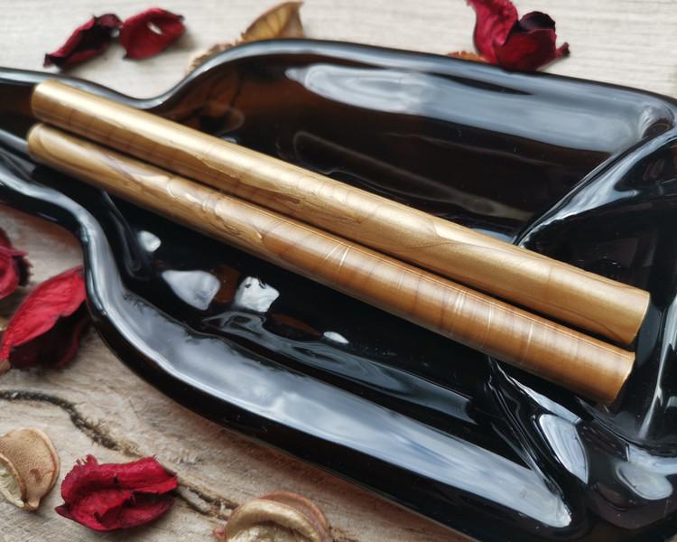 Gold 9ct 11mm Glue Gun Sealing Wax handmade in Shropshire