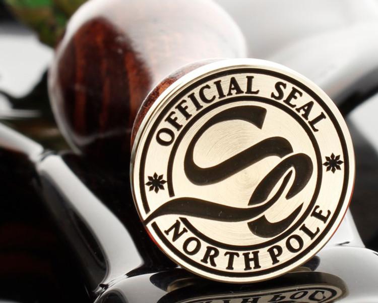Christmas Wax Seal Official Seal North Pole Monogram