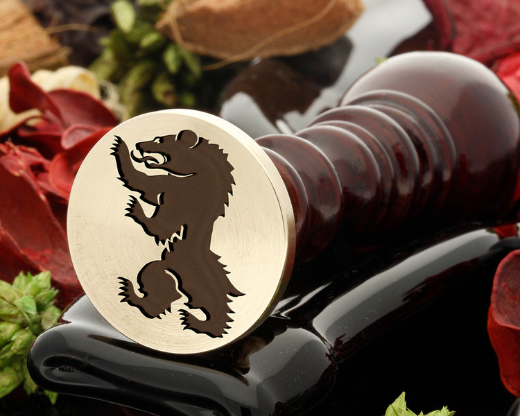 Wild Bear Wax Seal