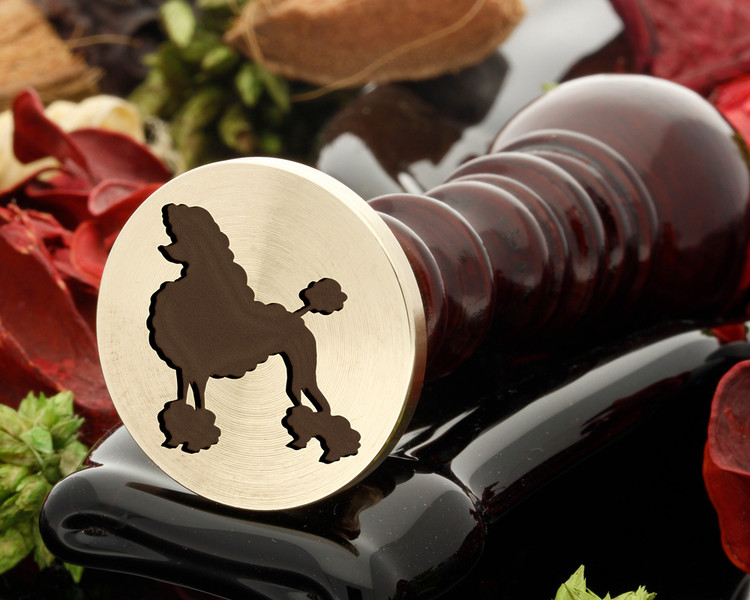 Poodle wax seal