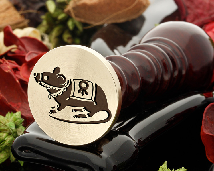 Mouse 2 Wax Seal