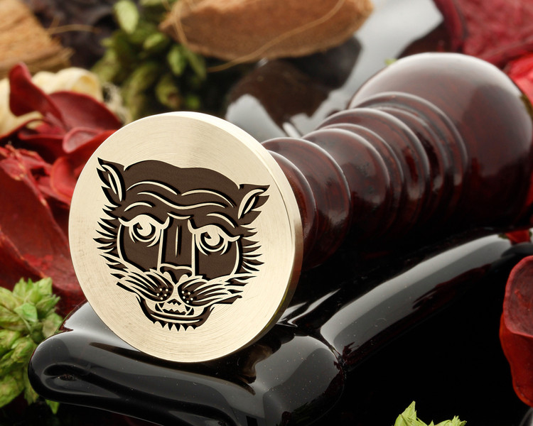 Big Cat 1 wax seal