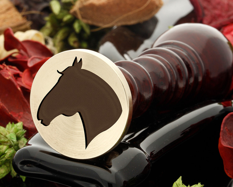 Horses Head D4 Wax Seal