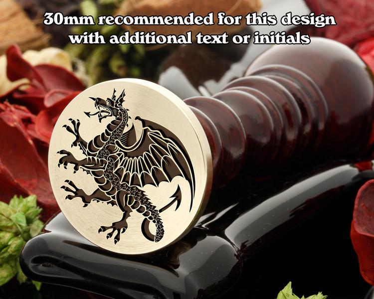 Dragon D10 Wax Seal Stamp
