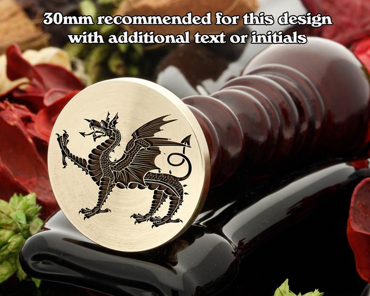 Dragon D12 Wax Seal Stamp