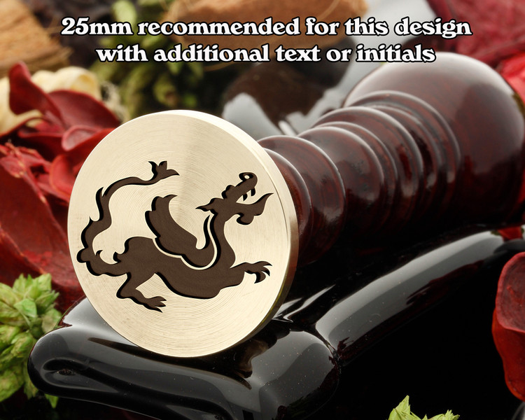 Dragon D20 Wax Seal