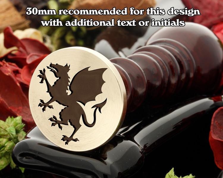 Dragon Wax Seal Stamp D1