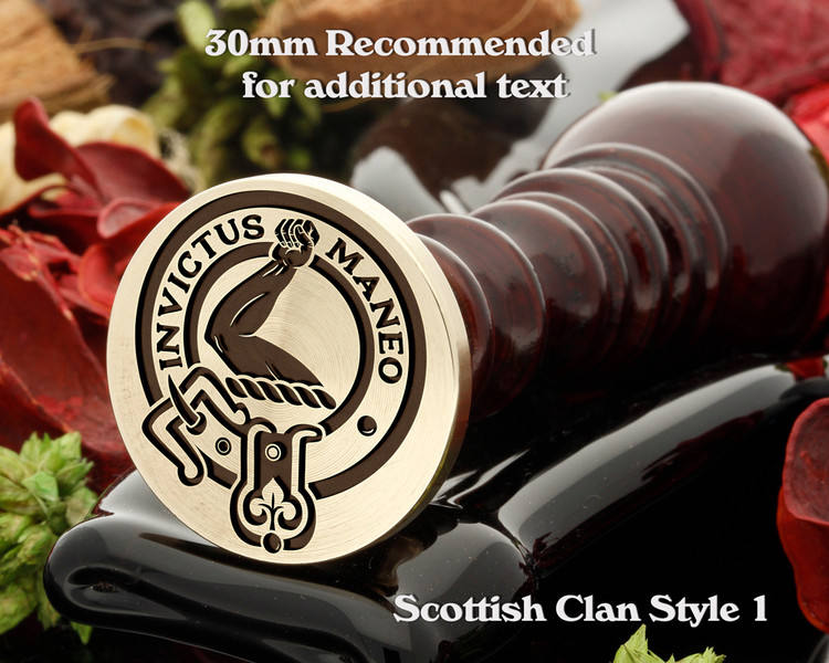 Armstrong Scottish Clan Wax Seal D1