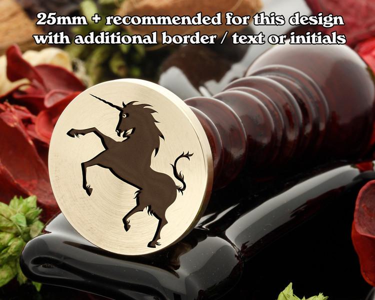 Mythical Unicorn D2 Wax Seal