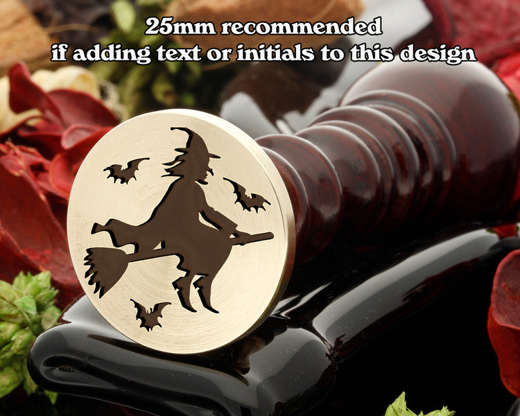 Halloween Witch Wax Seal