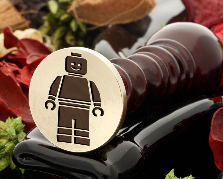 Lego Man Wax Seal Stamp