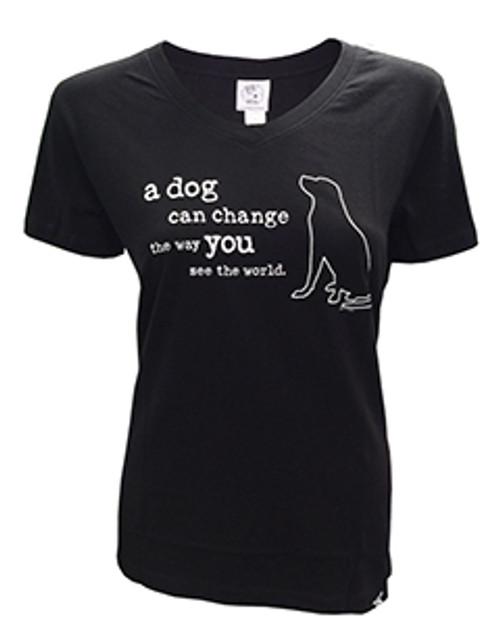 A Dog Can Change Women's Tee
