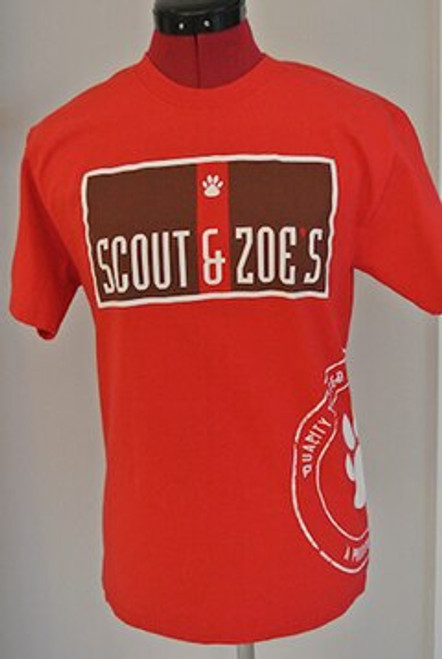 Red Scout & Zoe's Tee