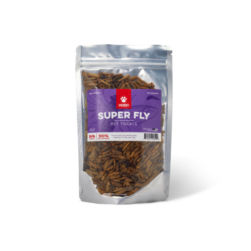 Super Fly Black Soldier Fly Larvae