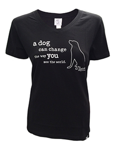 A Dog Can Change Women's Tee