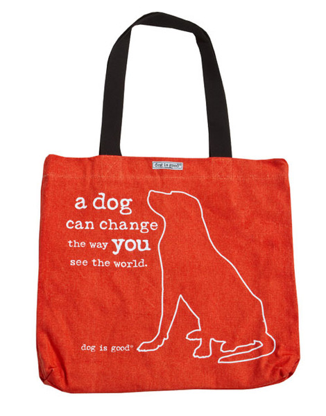 A Dog Can Change the World Tote