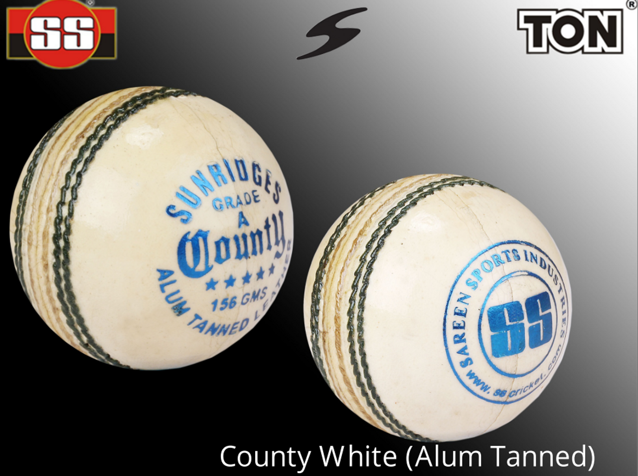 74b60ff29ab SS County White (Alum Tanned) - Kushi Cricket Store