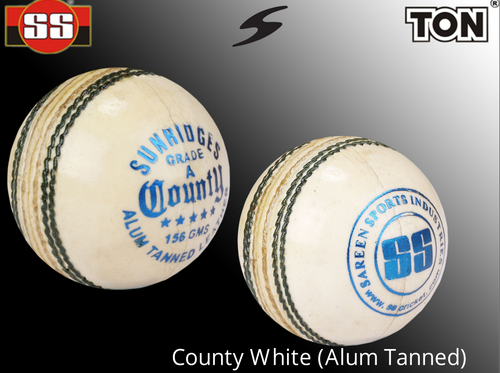 SS County White (Alum Tanned)