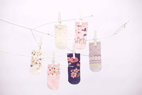 Toshi Cotton Baby Socks - Girls