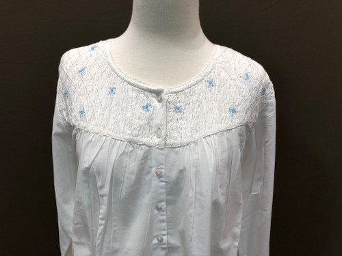 French Country Long Sleeved Nightie FFCC362