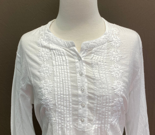 French Country Long sleeved Nightie FCQ362